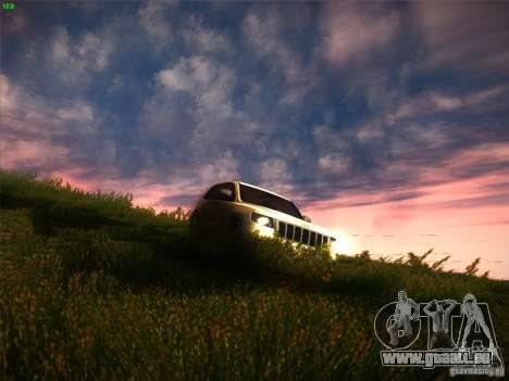 Jeep Grand Cherokee 2012 v2.0 pour GTA San Andreas vue intérieure