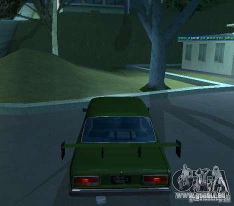 VAZ 2107 ermöglicht für GTA San Andreas rechten Ansicht