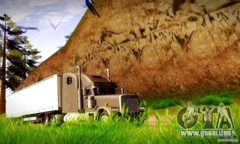 Freightliner Classic XL für GTA San Andreas Rückansicht