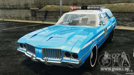 Oldsmobile Vista Cruiser 1972 Police v1.0 [ELS] pour GTA 4