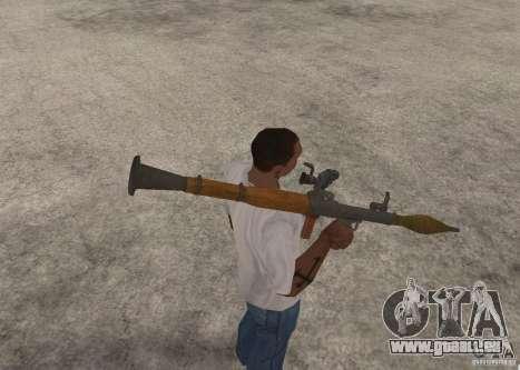 Le RPG-7 pour GTA San Andreas quatrième écran