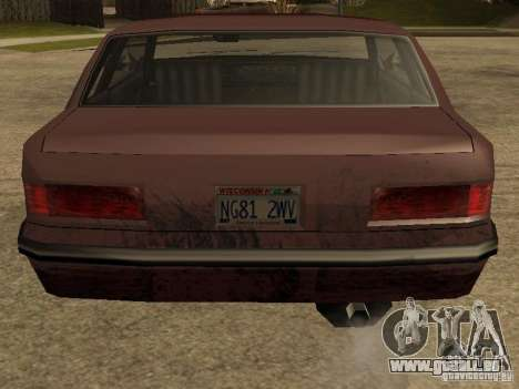 Dommages réalistes pour GTA San Andreas quatrième écran