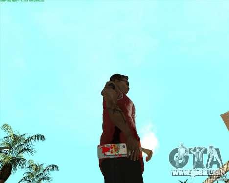 Blood Weapons Pack pour GTA San Andreas onzième écran