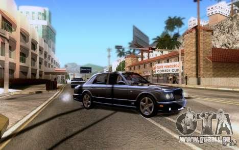 Bentley Arnage pour GTA San Andreas roue