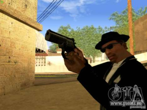 MP 412 für GTA San Andreas fünften Screenshot