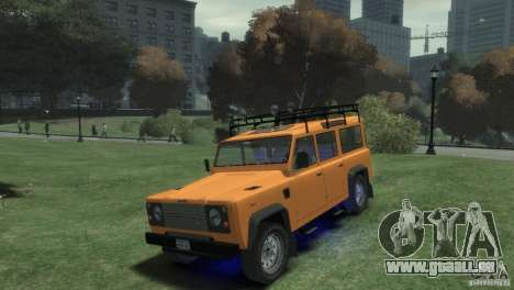 Land Rover Defender Station Wagon 110 pour GTA 4