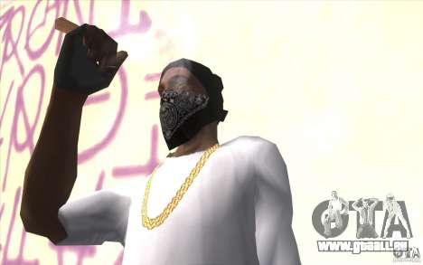 Fingerlose v2 für GTA San Andreas