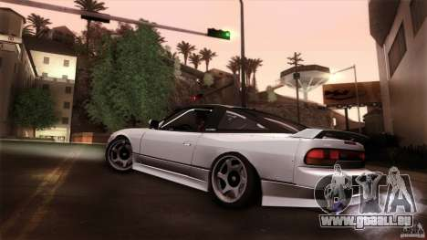 Nissan 240SX S13 Drift Alliance für GTA San Andreas linke Ansicht