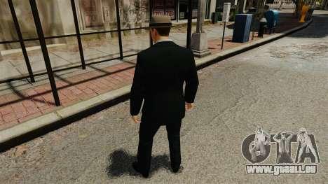 Cole Phelps für GTA 4 dritte Screenshot