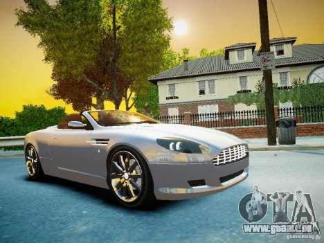 Aston Martin DB9 Volante v2.0 pour GTA 4 Vue arrière
