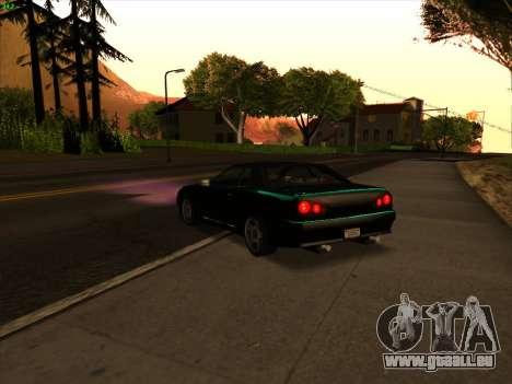 Elegy S13 pour GTA San Andreas laissé vue