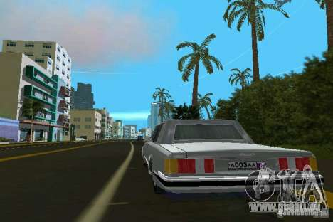 ZIL 41047 pour GTA Vice City sur la vue arrière gauche