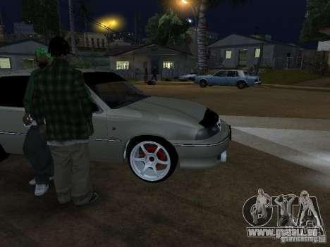 Daewoo Nexia pour GTA San Andreas sur la vue arrière gauche