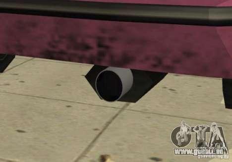 Car Tuning Parts pour GTA San Andreas dixième écran
