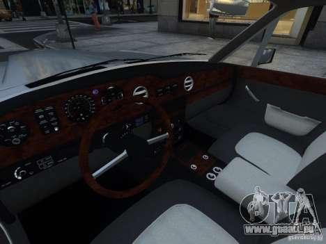 Rolls-Royce Silver Spirit 1990 pour GTA 4 vue de dessus