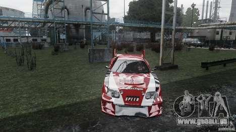 Toyota Supra Apexi Race System für GTA 4 rechte Ansicht