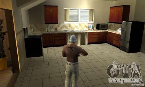 CJ Total House Remode pour GTA San Andreas troisième écran