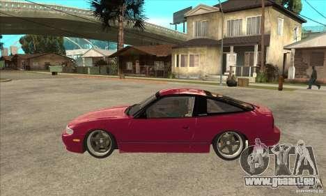 Nissan 240SX Zenki pour GTA San Andreas laissé vue