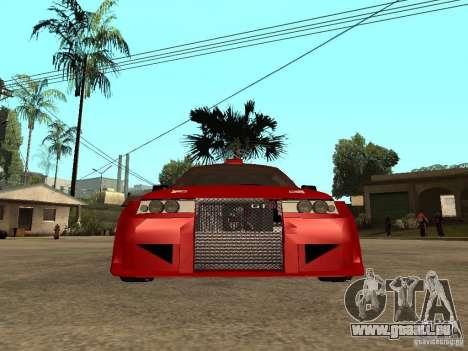 VAZ-2112 diable rouge pour GTA San Andreas vue de droite