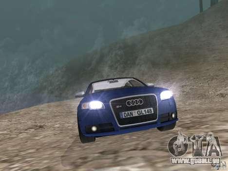 Audi S6 pour GTA San Andreas vue de droite