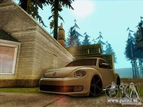 Volkswagen New Bettle 2013 Edit pour GTA San Andreas