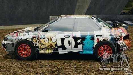 Subaru Impreza WRX STI 1995 Rally version für GTA 4 linke Ansicht