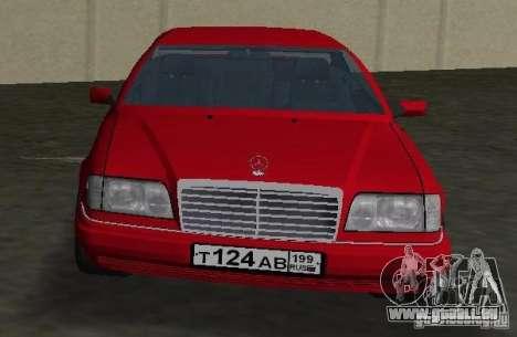 Mercedes-Benz E 320 (C124) für GTA Vice City rechten Ansicht