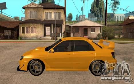 Subaru Impreza 2006 WRX STI für GTA San Andreas linke Ansicht