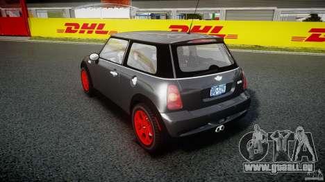 Mini Cooper S für GTA 4 Seitenansicht
