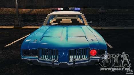 Oldsmobile Vista Cruiser 1972 Police v1.0 [ELS] für GTA 4-Motor