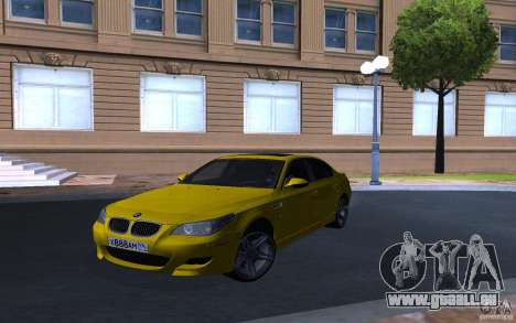BMW M5 Gold Edition für GTA San Andreas