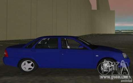 Lada 2170 Priora für GTA Vice City rechten Ansicht