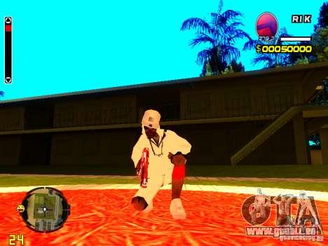 Haut Penner v9 für GTA San Andreas zweiten Screenshot
