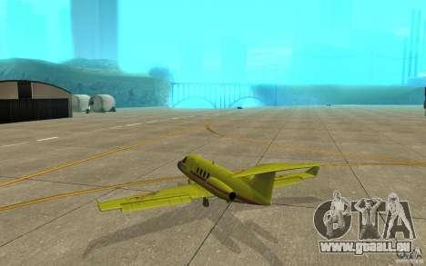 Shamal 1.0 Final für GTA San Andreas rechten Ansicht