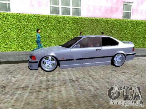 BMW M3 E36 Light Tuning pour GTA San Andreas vue intérieure