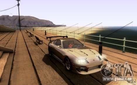 Toyota Supra Top Secret pour GTA San Andreas salon