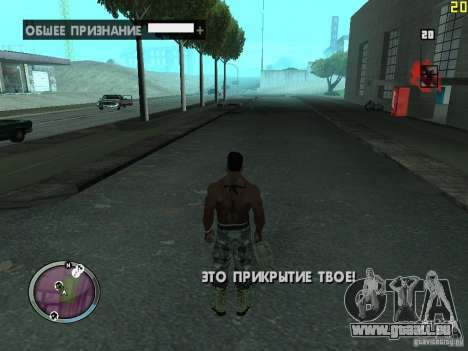 Neue GANGSTER-zone für GTA San Andreas fünften Screenshot