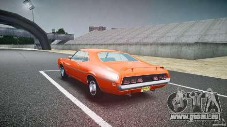 Mercury Cyclone Spoiler 1970 für GTA 4 Seitenansicht