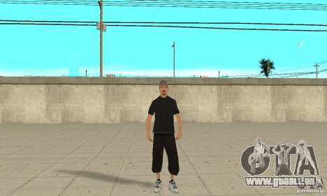 David Blane Skin für GTA San Andreas zweiten Screenshot