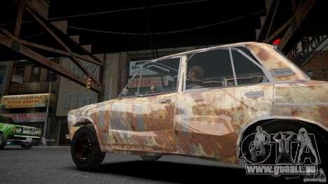 VAZ 2106 Rusty pour GTA 4 est une gauche