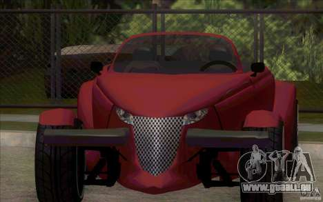 Plymouth Prowler pour GTA San Andreas laissé vue