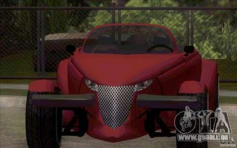 Plymouth Prowler für GTA San Andreas linke Ansicht