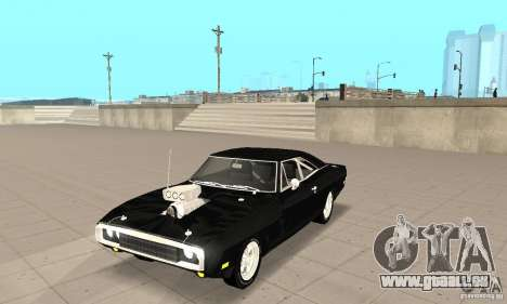 Dodge Charger RT 1970 The Fast & The Furious pour GTA San Andreas
