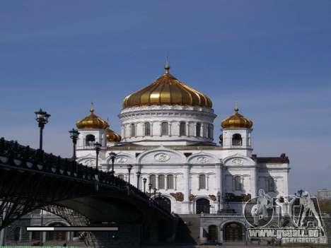 Écran de démarrage de Moscou pour GTA San Andreas