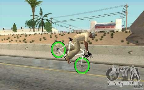 Fixie Bike für GTA San Andreas rechten Ansicht