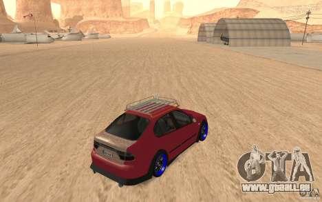 Seat Toledo 1999 Tuned pour GTA San Andreas vue de droite