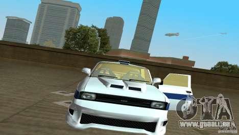 AZLK 2140 pour GTA Vice City sur la vue arrière gauche
