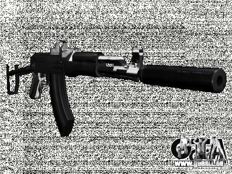 New Weapons Pack für GTA San Andreas her Screenshot