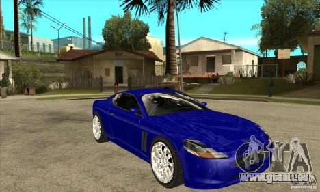 GTA IV SuperGT pour GTA San Andreas vue arrière
