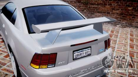 Ford Mustang SVT Cobra v1.0 für GTA 4 Innen